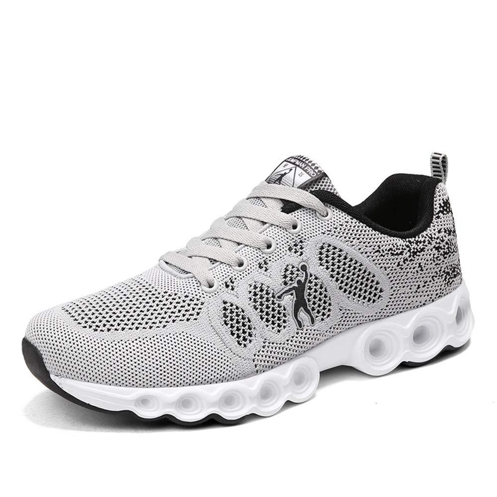 Damenschuhe Mesh Athletic Turnschuhe Atmungsaktiv Laufschuhe Up Schuhe Unisex Herren Damen (Farbe   F Größe   38)