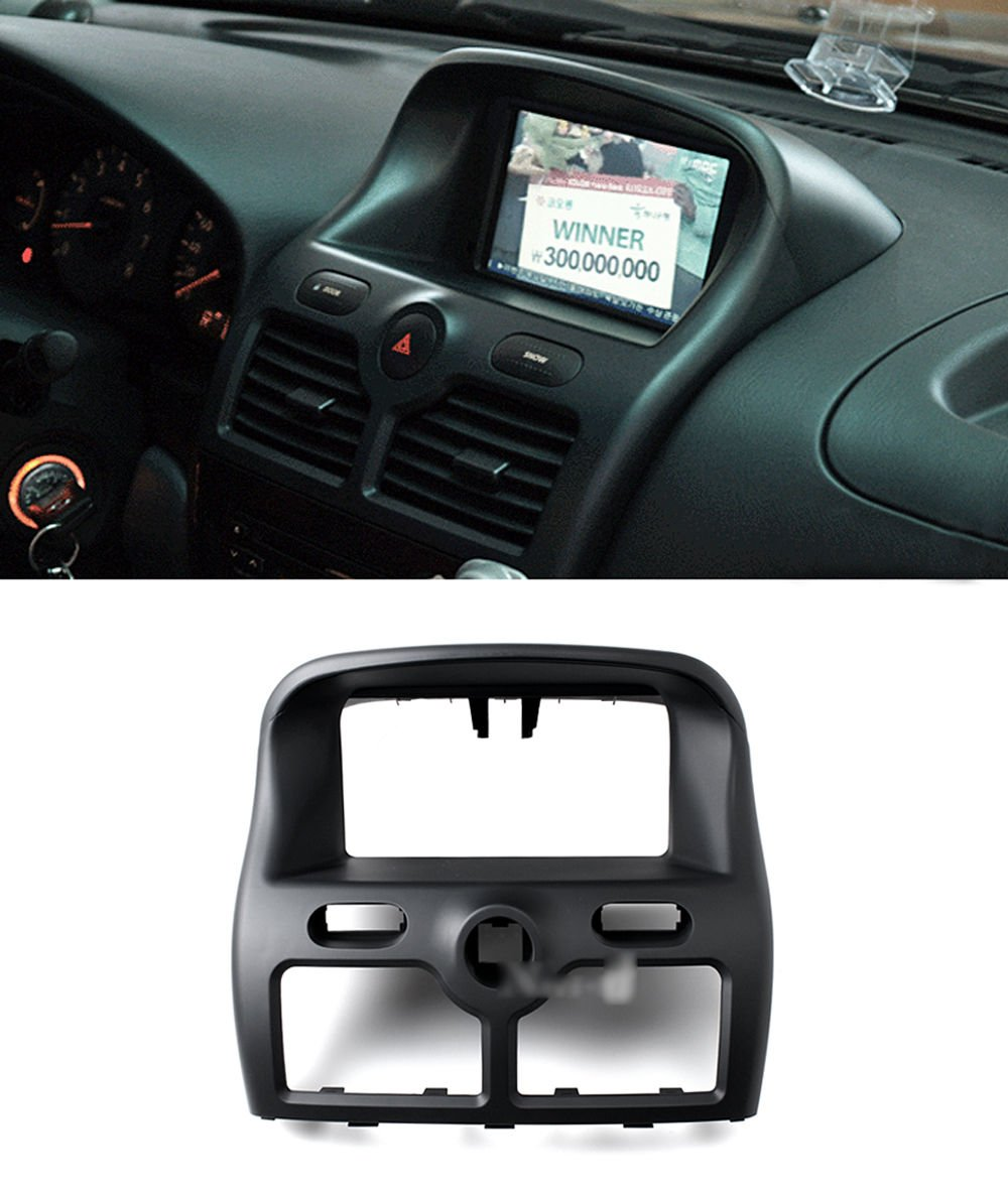 Center Fascia Integrated Black 4-pc Set for Renault Fluence SM3 by Automotiveapple