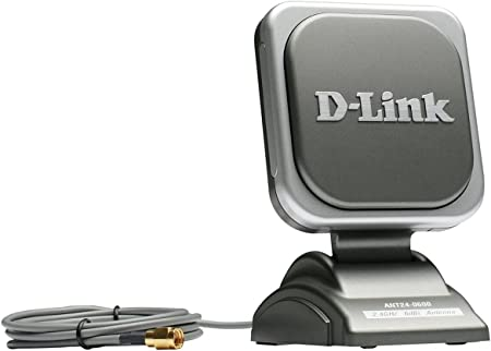 D-Link ANT24-0600 - Antena (6 dBi, 2.4-2.5, IEEE 802.11b,IEEE 802.11g, Antena omnidireccional, RP-SMA, 1,5 m)