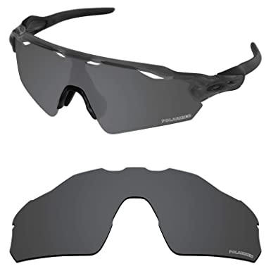 19ac452e11 Tintart Performance Lenses Compatible with Oakley Radar EV Pitch Polarized  Etched-Carbon Black
