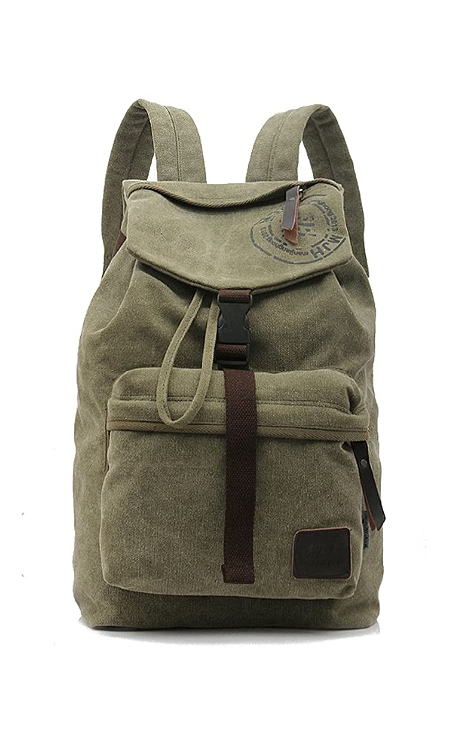 Ginsio Unisex Outdoor Sports Casual Canvas Crossbody Sling Mountaineer Bike Riding Travel Pack Students Backpacks Shoulders Bag