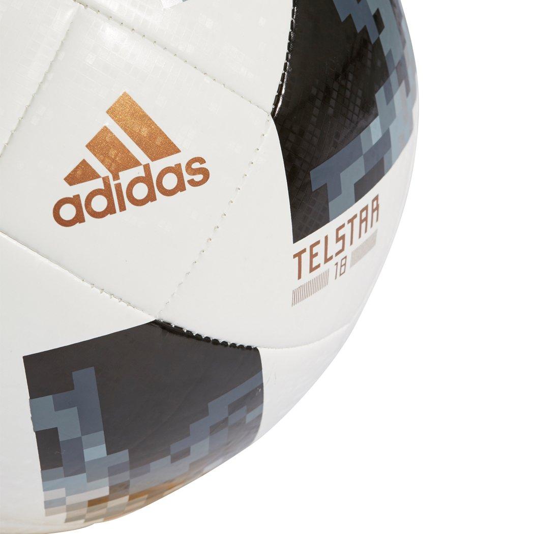BALL FIFA WORLD CUP TOP GLIDER White/Black/Silver Metallic 2018 ...