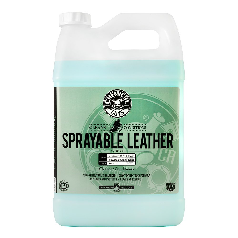 Chemical Guys SPI_103 Sprayable Leather Cleaner and Conditioner in One (1 Gal) by Chemical Guys (Image #1)
