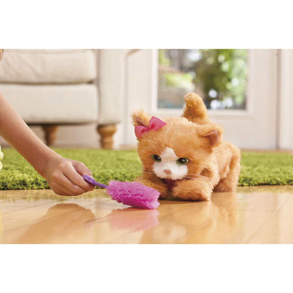 Amazon.com: FurReal Friends Daisy Plays-With-Me Kitty Toy: Toys