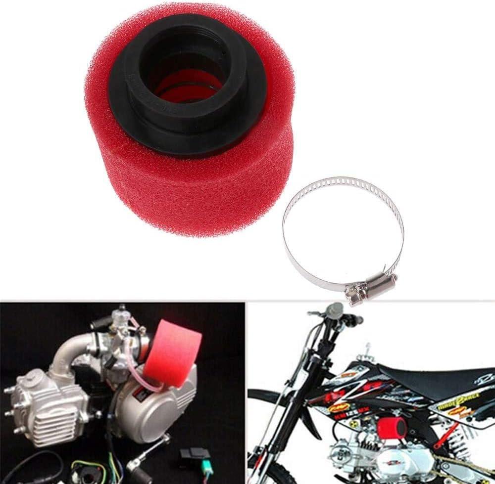Red MR CARTOOL 38mm Universal Air Filter Sponge Foam Cleaner for Dirt Pit Bike ATV CRF KLX Motorcycle