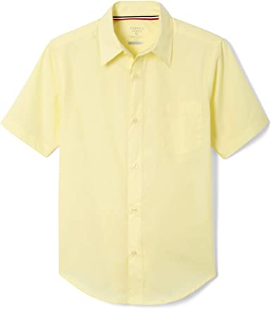 French Toast Boys' Short Sleeve Poplin Dress Shirt