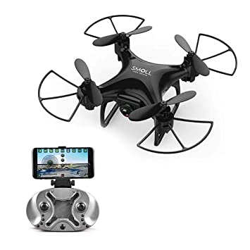 LITEBEE Mini Pocket Drone con cámara, WiFi FPV Drone Mini RC ...