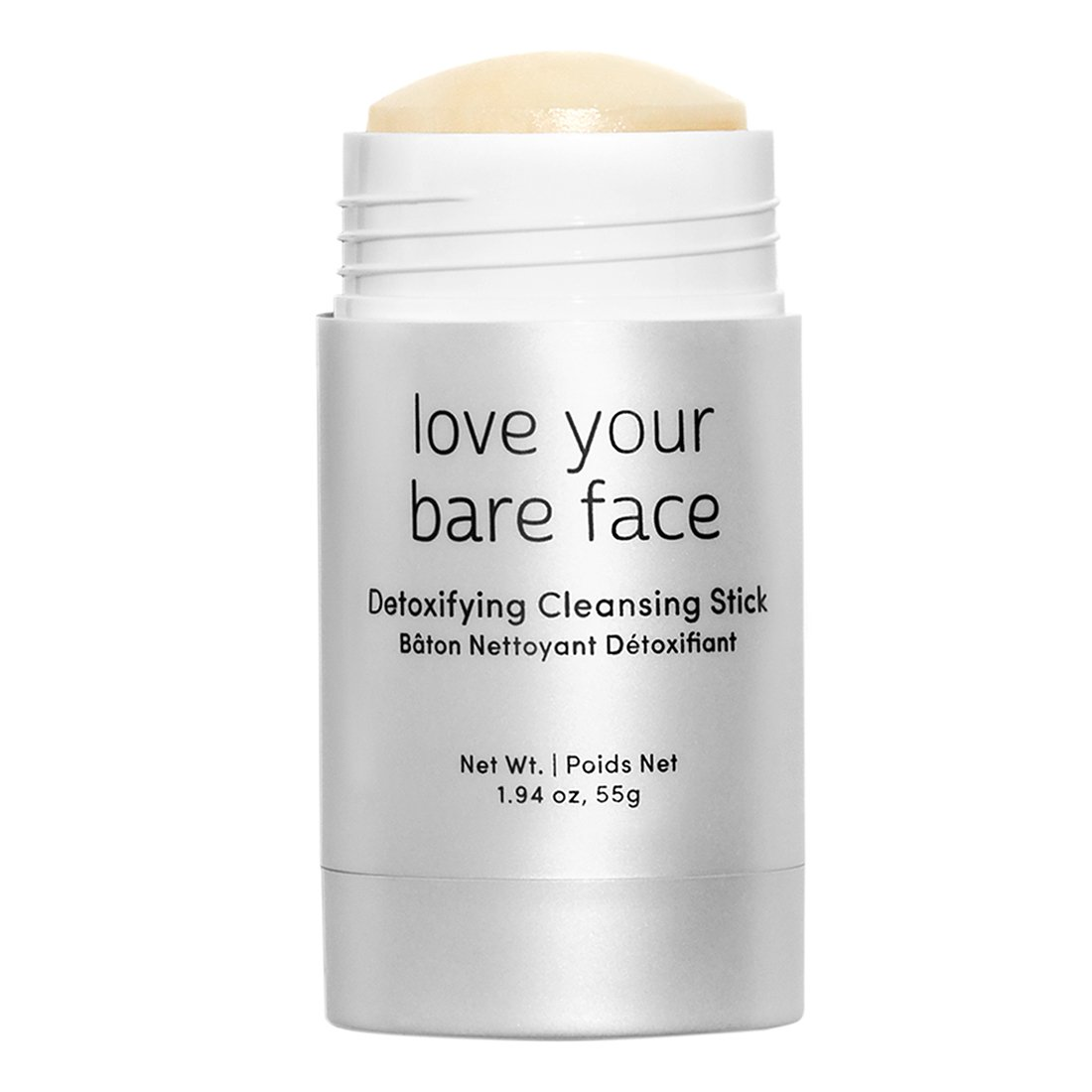 Julep Love Your Bare Face Detoxifying Cleansing Balm Stick, Exfoliating Face Wash,1.94 ounce