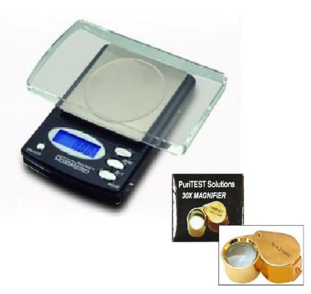 New GUARANTEED 0.01 g Digital Precision Gunsmithing Scale. Weigh Gunpowder Grains for Reloading Bullets, Muzzle Loaders, and other Ammunition. LCD Screen PuriTEST DigiWeigh Accurate Weigh