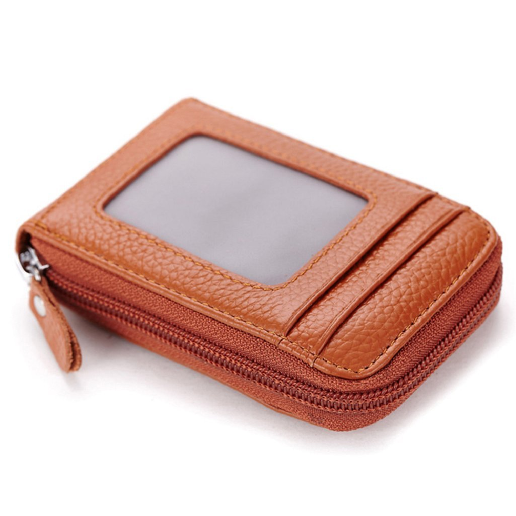 ユニセックスClassic Fauxレザー財布IDクレジットカードホルダーオーガナイザー財布 One Size ブラウン B01LCTAJ44