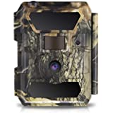 WingHome Trail Camera, 12/16/22MP 1080P Game Camera with Night Vision No Glow, 0.4s Trigger Time Outdoor Wildlife Camera Moti