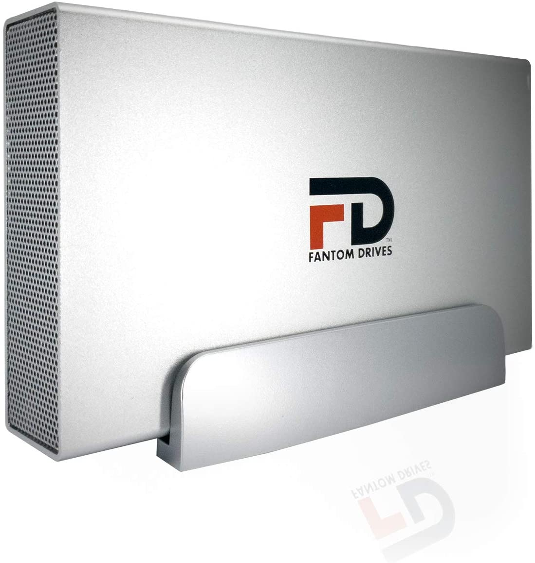 FD 10TB 7200RPM External Hard Drive - USB 3.2 Gen 1 - 5Gbps - GForce 3 Aluminum - Silver - Compatible with Mac/Windows/PS4/Xbox (GF3S10000UP) by Fantom Drives