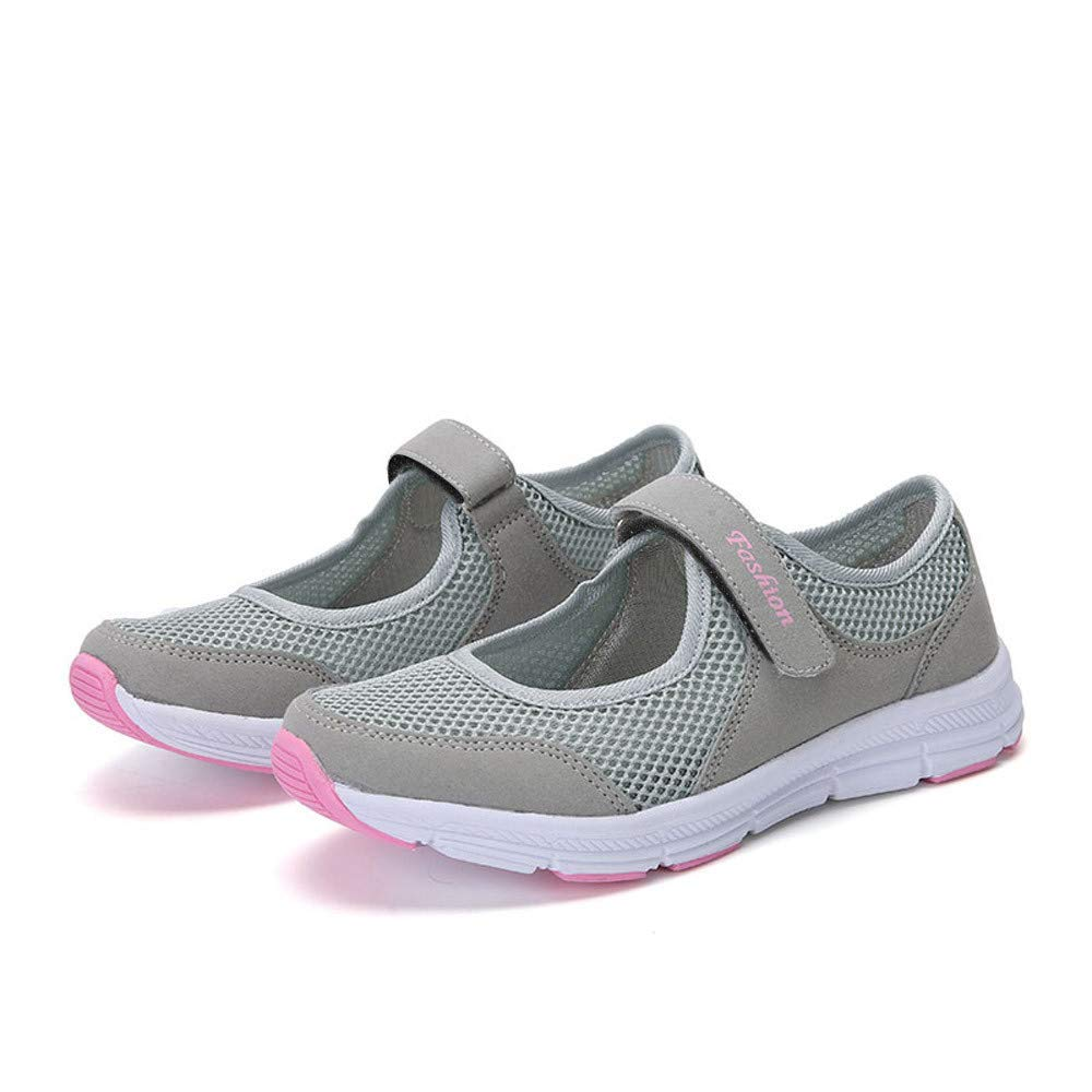 Chaussures Plates Femme Pas Cher Confortable Fond Mou De Marche Respirant Fitness Engrener/D/écontract/ée Paresseuses Chaussures Loafers Mocassins Soldes S/&H-NEEDRA Mary Janes Femme
