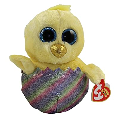 "TY Beanie Boo's 6"" Megg the Chicken in Egg Shell: Toys & Games"