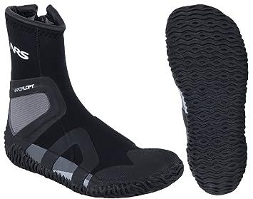 4505c63c10d9 NRS Paddle Wetshoe - Men s Black   Grey 6