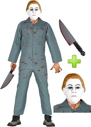 Disfraz de Asesino Hombre Halloween: Amazon.es: Ropa y accesorios