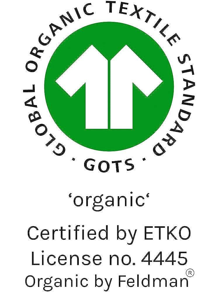 Natur GOTS Zertifiziert Organic by Feldman Unisex Baby Body Kurzarm Wickelbody aus Bio Baumwolle Kraftgebender Wald