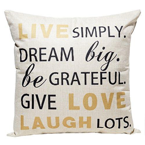 Pillows With Sayings Amazon Com