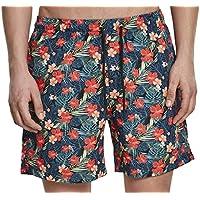 Urban Classics Pattern Swim Shorts, Pantalones Cortos para Hombre