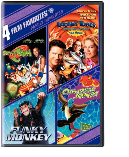 4 Film Favorites: Family Comedies (Funky Monkey, Looney Tunes Back In Action, Osmosis Jones, Space Jam) (Jam Dvd)
