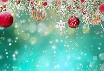 Sfondi Natalizi Jpg.Yongfoto 3x2m Vinile Fondali Fotografici Natale Decorazione Di Natale Su Sfondo Astratto Sfondi Foto Partito Studio Fotografico Puntelli