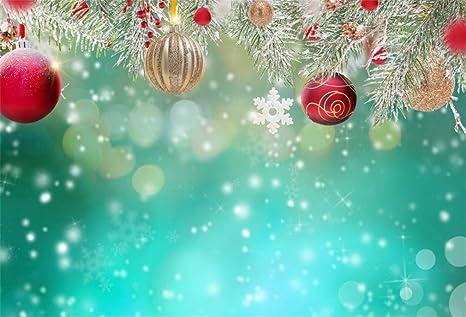 Sfondi Natalizi Eleganti.Yongfoto 3x2m Vinile Fondali Fotografici Natale Decorazione Di Natale Su Sfondo Astratto Sfondi Foto Partito Studio Fotografico Puntelli