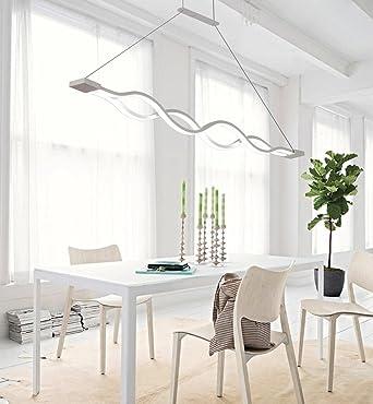 Led Pendelleuchte Esszimmer Lampe Modern Esstisch Kaltweiss Licht