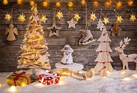 Sfondi Natalizi Mail.Yongfoto 3x2m Vinile Fondali Fotografici Natale Decorazione Di