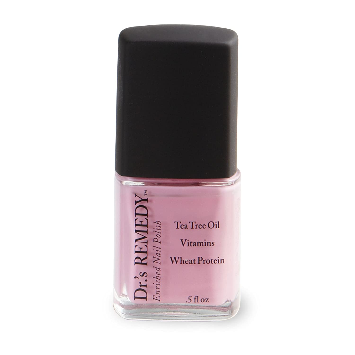 Amazon.com : Dr.\'s Remedy Enriched Nail Polish, POSITIVE PINK, 0.5 ...