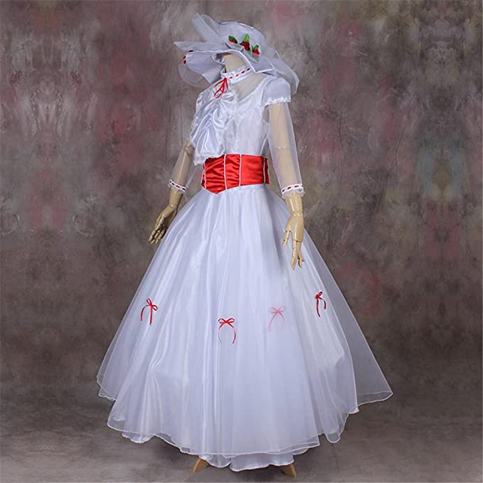 1900s, 1910s, WW1, Titanic Costumes Mary Poppins Mary Costume Fancy Dress $116.90 AT vintagedancer.com