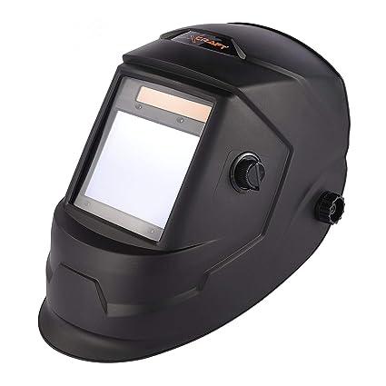 MAXCRAFT Careta Soldar Oscurecimiento Automático 4/5-9/9-13 Máscara de