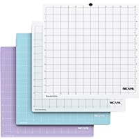 NICAPA Cutting mats for Silhouette Cameo 4/3/2/1, 4pack in, (Standardgrip 2pcs,Lightgrip 1pcs,Stronggrip 1pcs)