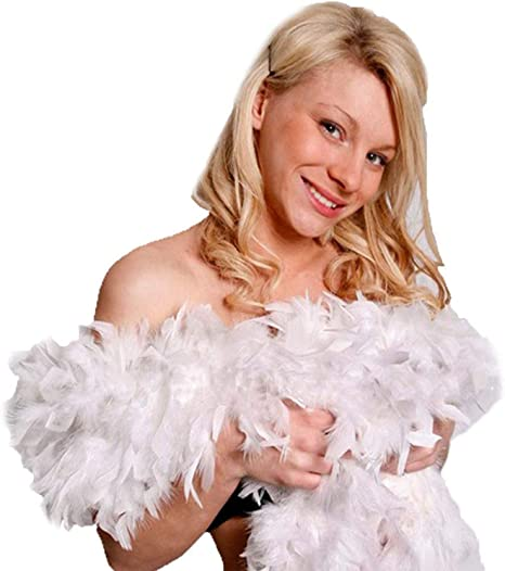 1 Feather Boa Flapper 1920/'s Party Costume Dressup Fun Cosplay Burlesque Dancing