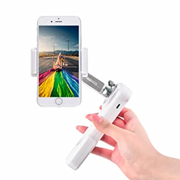 Smartphone Gimbal X-CAM SIGHT2S Handheld Stabilizer for Smartphone Includes  iPhone/Samsung/Galaxy/Apple/Android,2 Axis Folding Gimbal with face