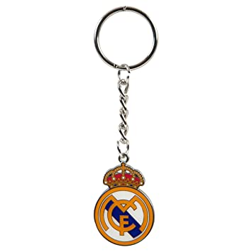 Real Madrid C.F. Real Madrid C. F. Crest Llavero MD: Amazon ...