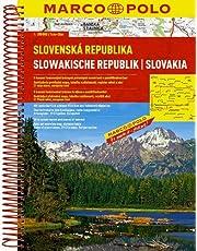 Slovakia Marco Polo Road Atlas: 1:200 000