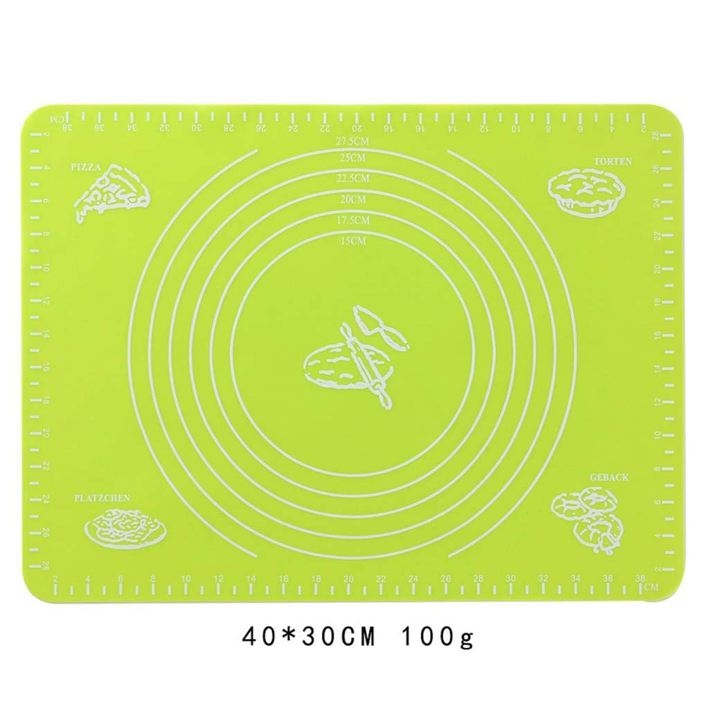 Provide The Best Silicone Cuisson Tapis Roulant p/âtisserie Grand antiadh/ésives Fondant Chaleur Resistent Table Mat