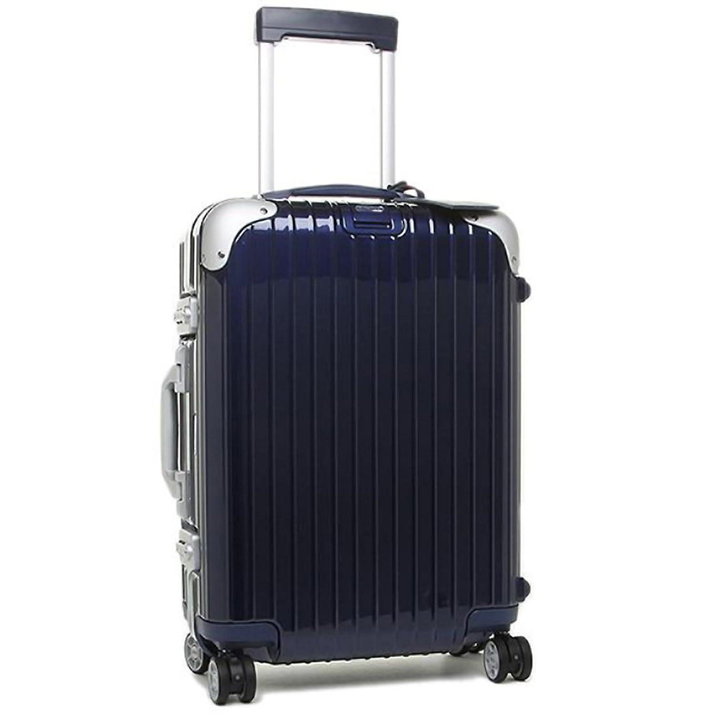 (リモワ) RIMOWA リモワ スーツケース RIMOWA 881.52.21.4 LIMBO 55CM 32L 1泊用 機内持ち込み可能 4輪 TSAロック キャリーバッグ NIGHT BLUE [並行輸入品] B06XBH66L5