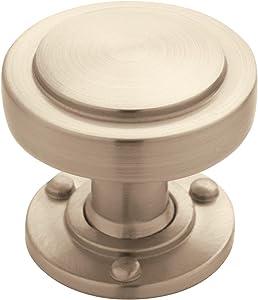 Amerock BP53710G10 Rochdale 1-1/4 in (32 mm) Diameter Satin Nickel Cabinet Knob