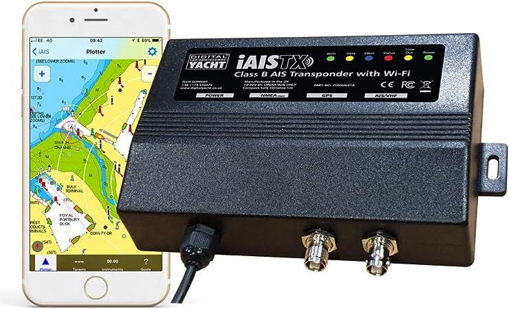 Digital Yacht iAISTX Plus - Transpondedor AIS con Interfaz Wi-Fi y NMEA 2000: Amazon.es: Deportes y aire libre