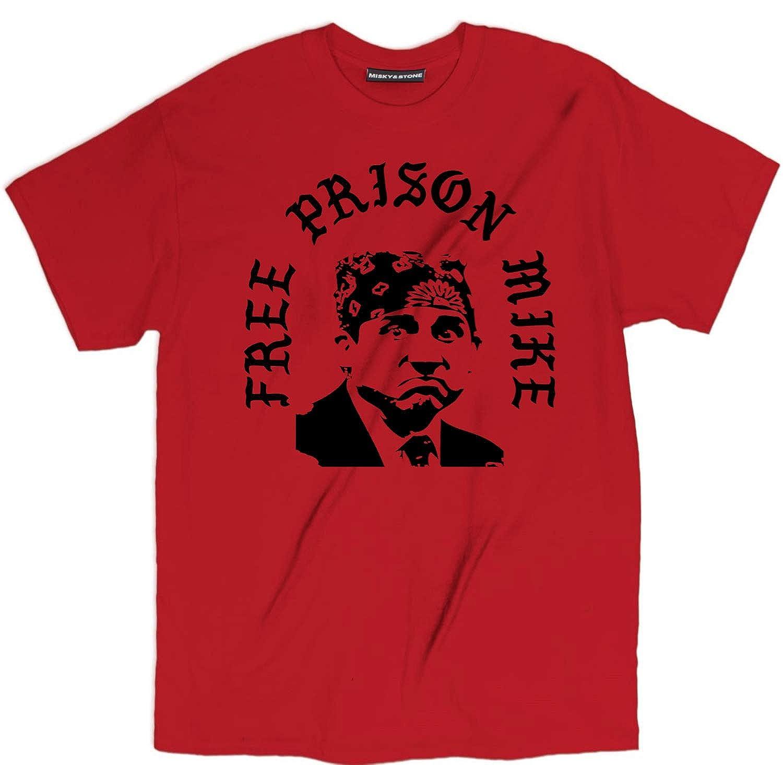 df8fbc45 Misky & Stone Free Prison Mike T Shirt Cotton Funny Pop Culture Tv Show  S-3xl Lime | Amazon.com