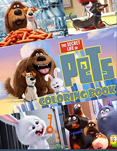 The Secret Life of Pets coloring book great coloring page [Pets, Mr] (Tapa Blanda)