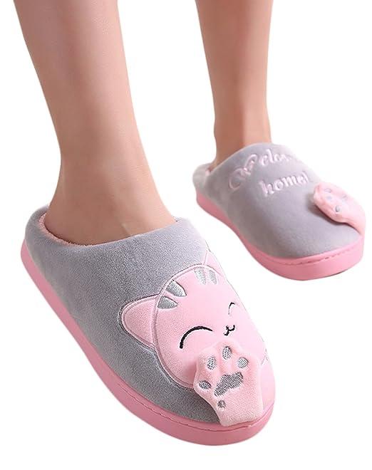 71f3bfac2548 Women s Velvet Memory Foam Closed Back Slippers Lightweight Anti-Slid  Embroidery Ballerina House Office