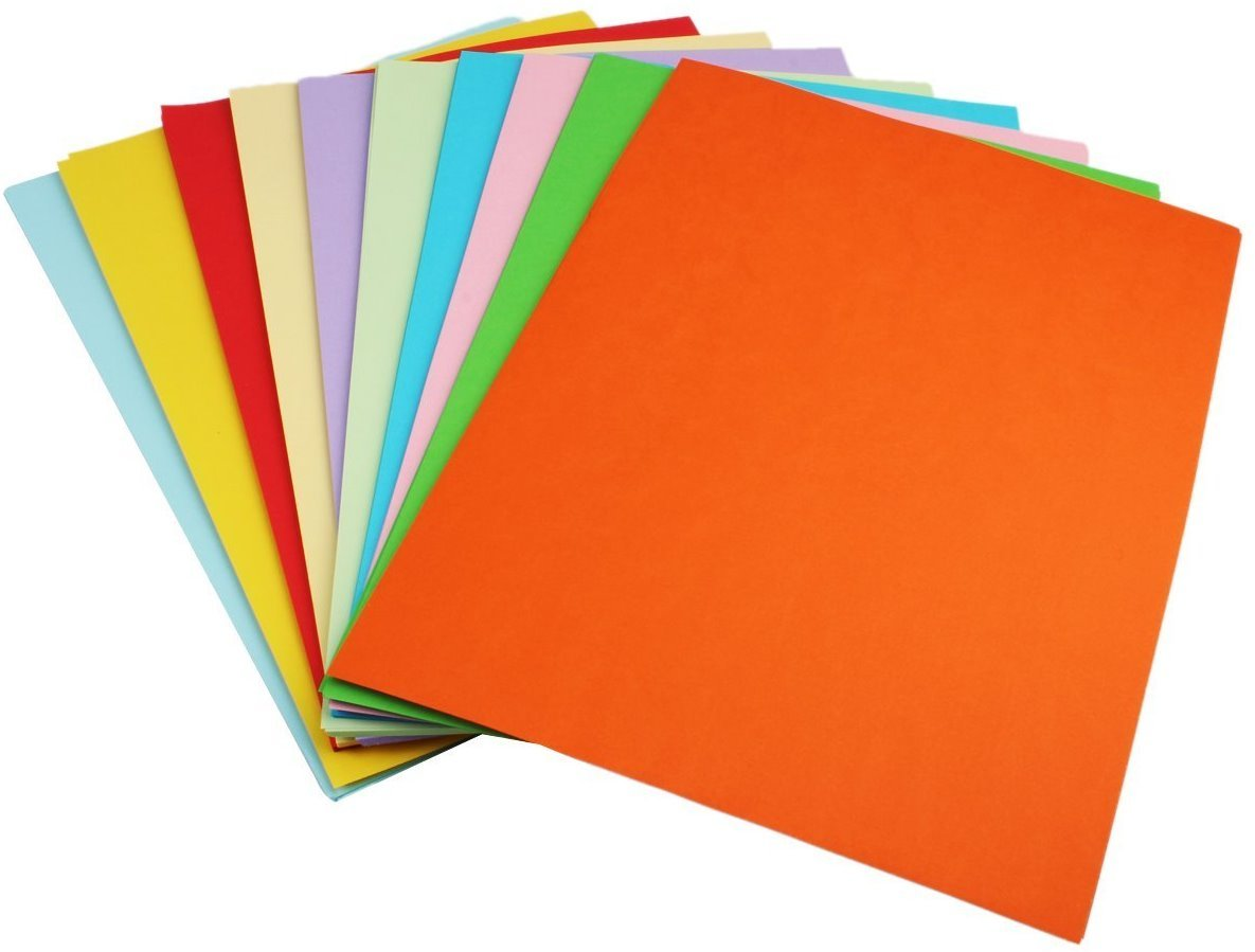 Meta colour sheets in bangalore - 250 Sheets Sinar Premium A4 Multi Colour Paper Photocopy Art Craft 10 Colour 80gsm Amazon In Toys Games