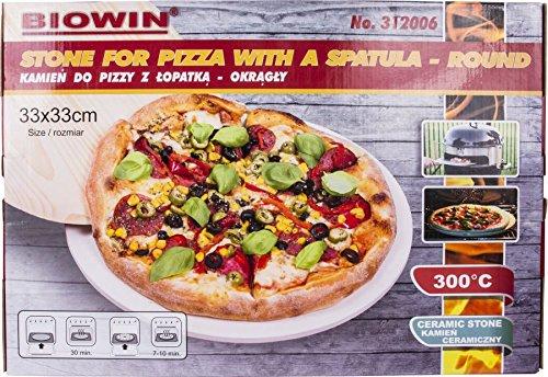 piedra del Horno para pizza (ladrillo con pala para pizza 33 cm ...