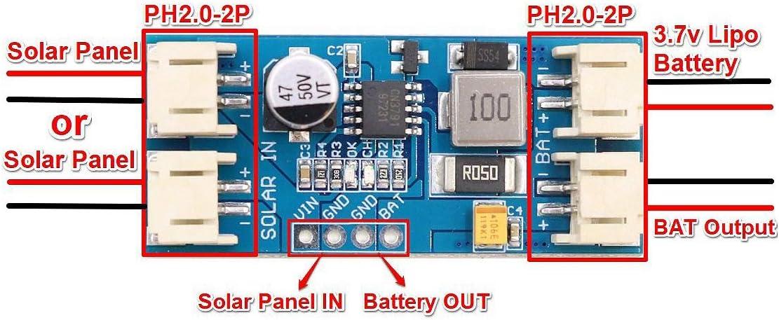 Cavis Zelle Lithium Batterie Ladung 3,7 V 4,2 V Cn3791 Mppt Solar Panel Regler Controller Solar Panel Ladeger?T Board Controller Modul