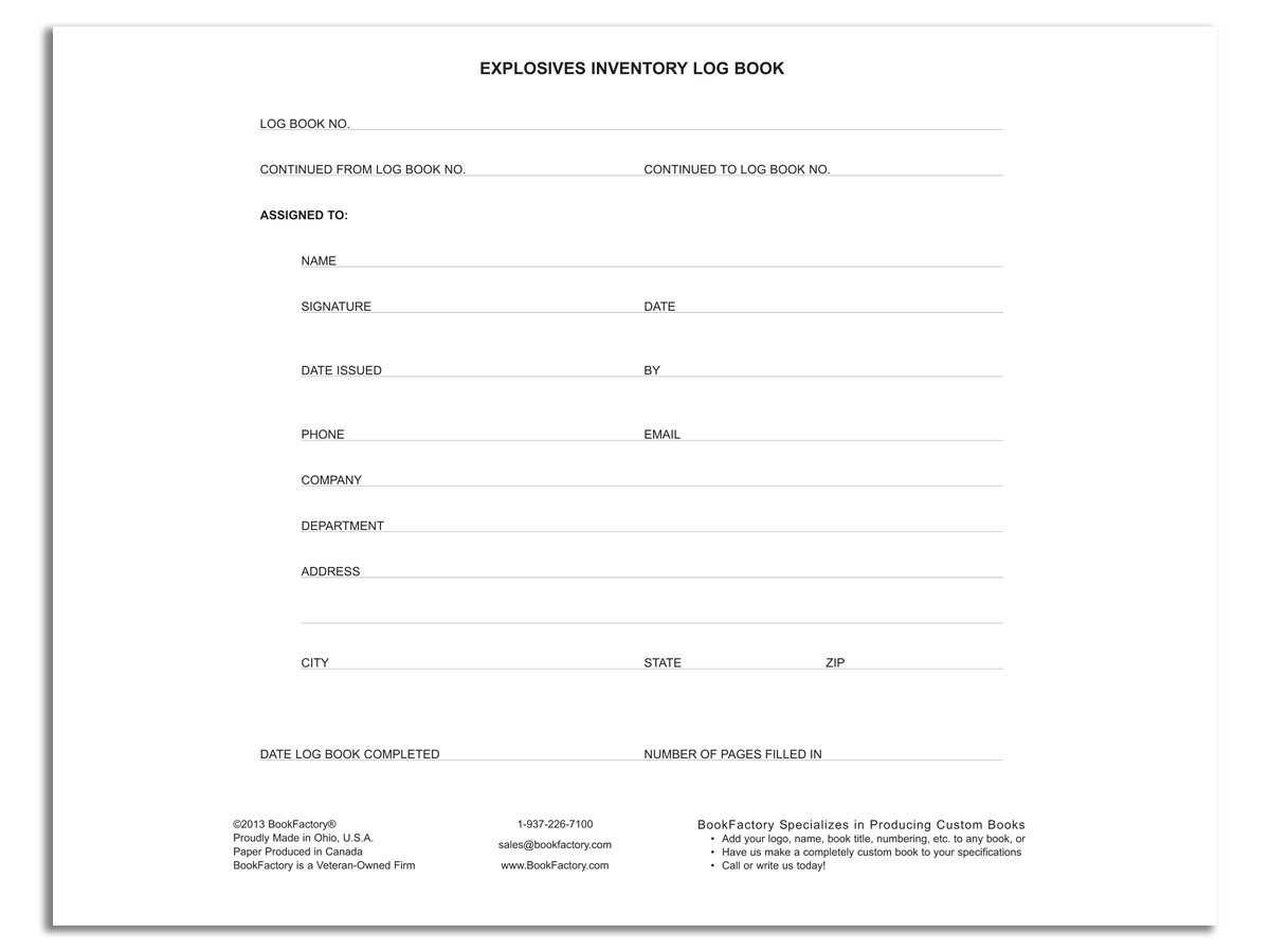 inventory log