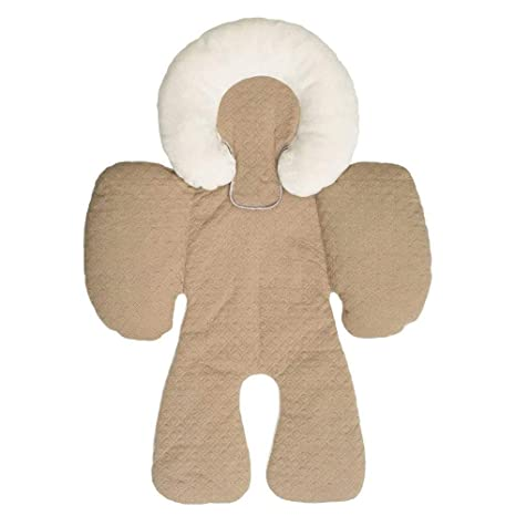 Ogquaton Asiento de cochecito para bebé Cojín para cojines ...