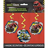 "26"" Hanging Dinotrux Decorations, 3ct"