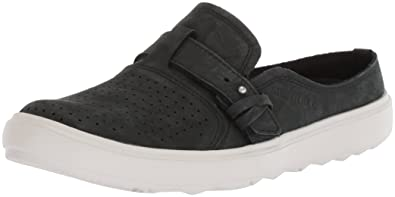 Merrell Women's Around Town City Slip on Air Sneaker, Black, 5 Medium US